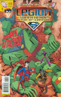 Legion of Super Heroes in the 31st Century #11