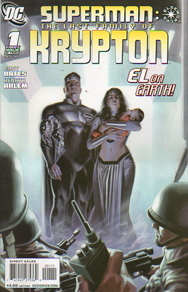 Superman: The Last Family of Krypton #1
