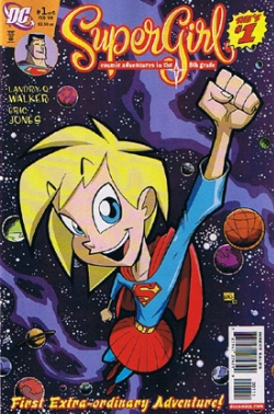 Supergirl: Cosmic Adventures in the Eighth Grade #1