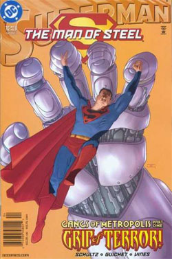 Superman: The Man of Steel #123
