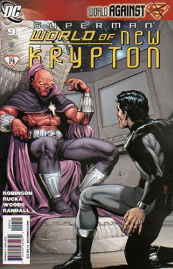 Superman: World of New Krypton #9