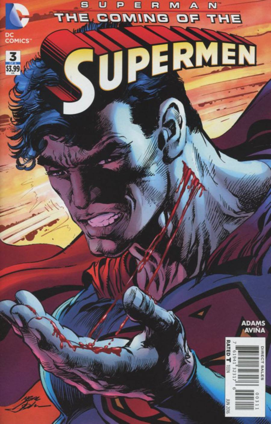 Superman: Coming of the Supermen #3