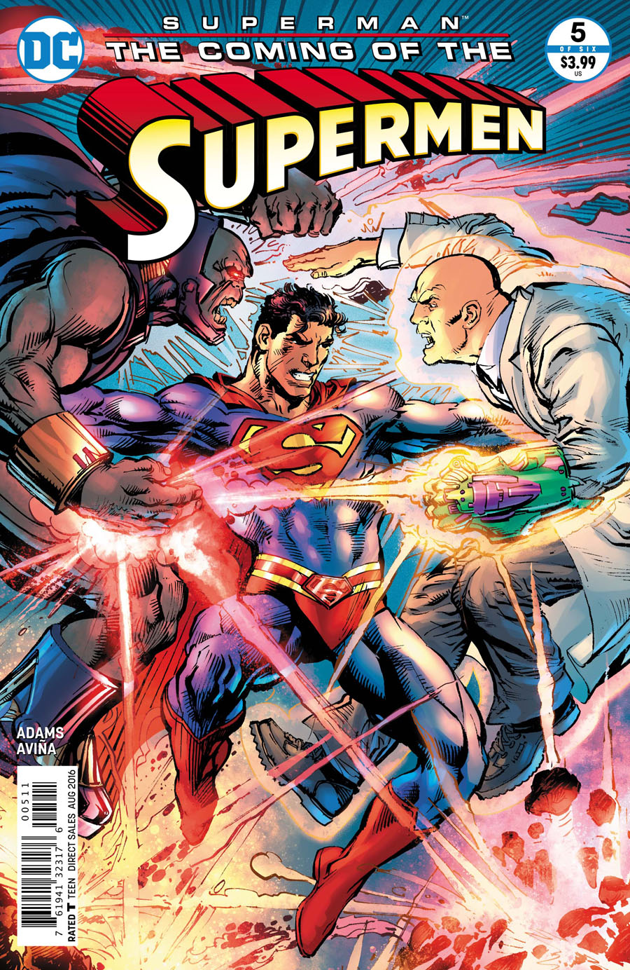 Superman: Coming of the Supermen #5