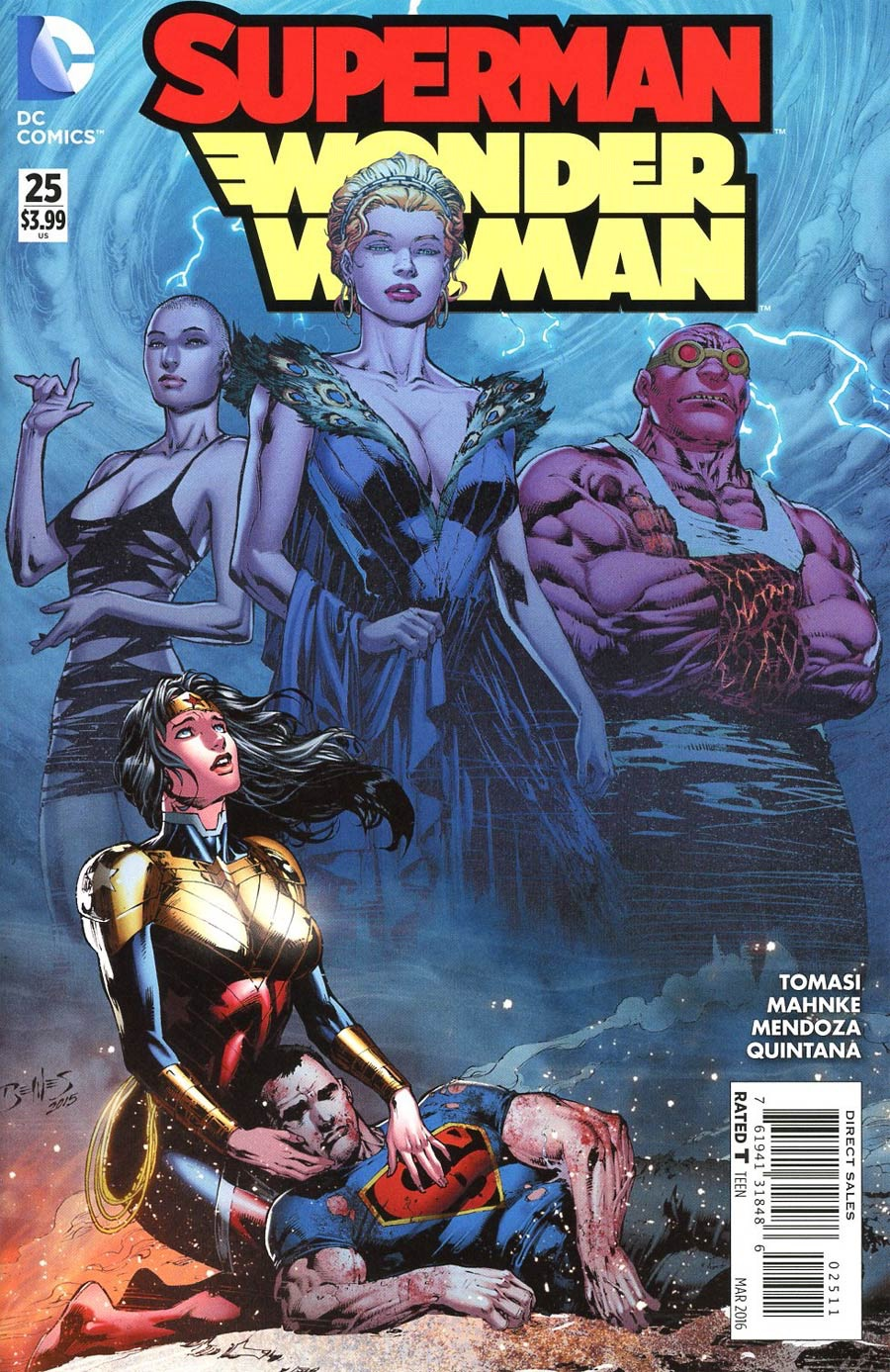 Superman/Wonder Woman #25